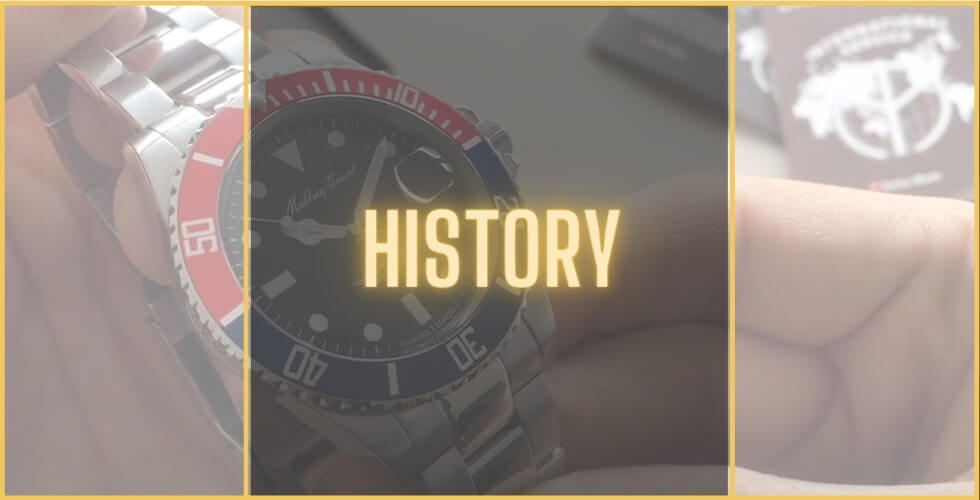 History of Mathey-Tissot watches