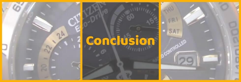 Citizen PCAT - conclusion