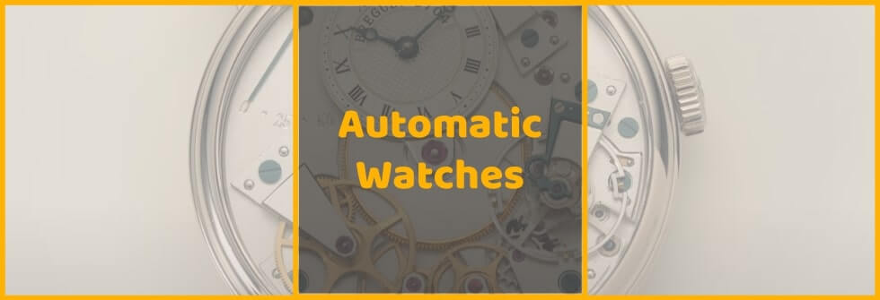 Movement used in automatic watches