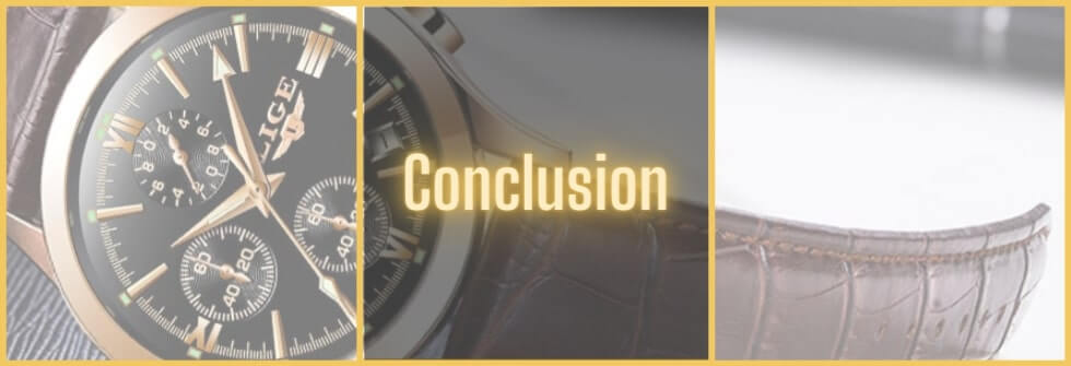 Review of Lige watches - conclusion