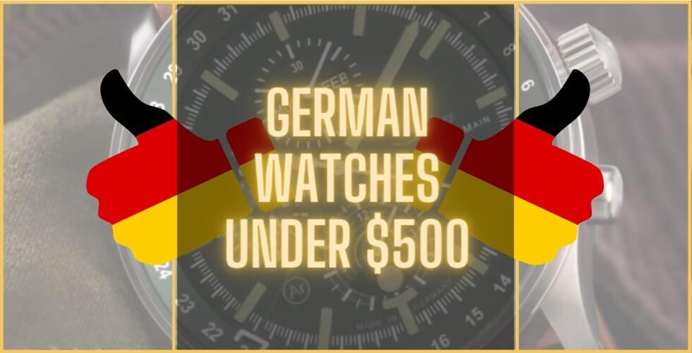 Best German watches under 500 dollars