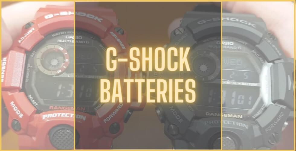 How long do G-Shock batteries last?