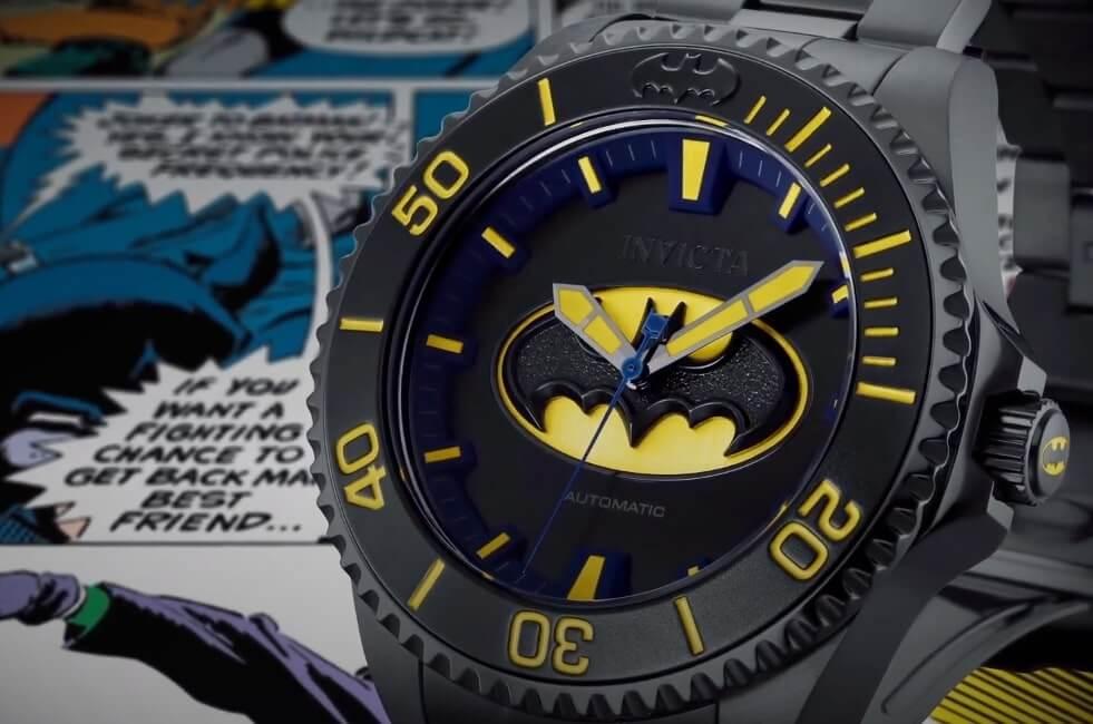 Invicta Special Edition watches include DC comics