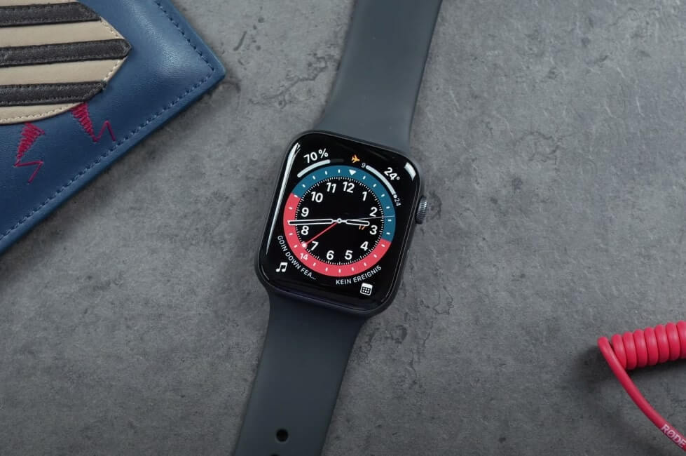 What is a GMT Apple Watch face?