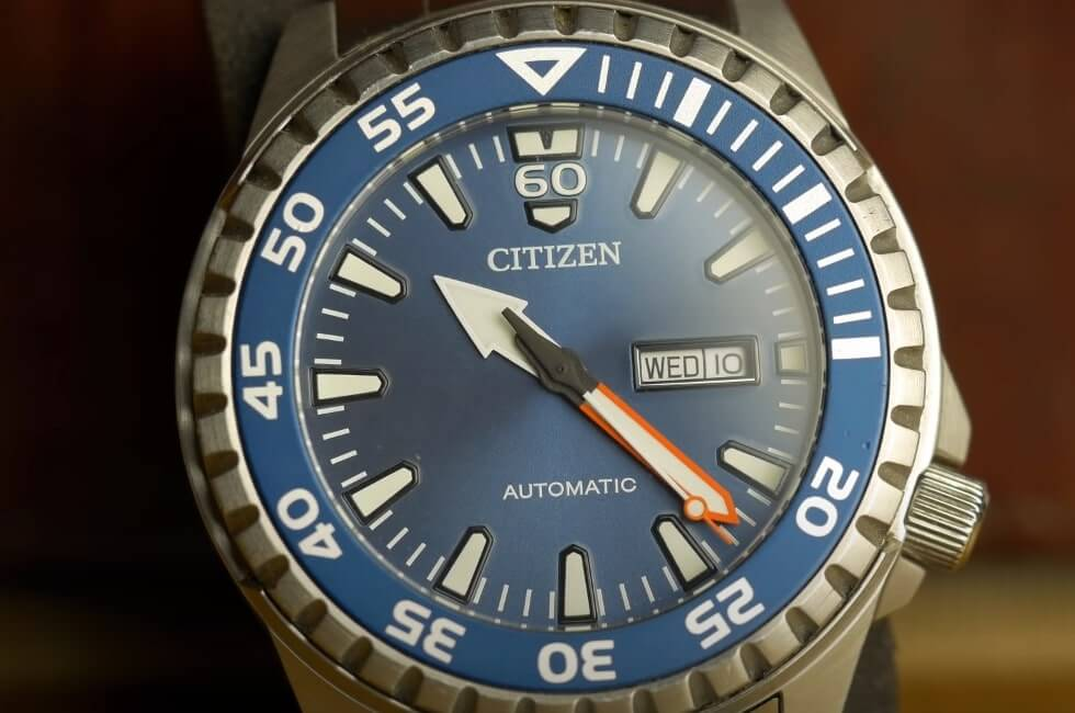 Citizen automatic watch - model NH8389