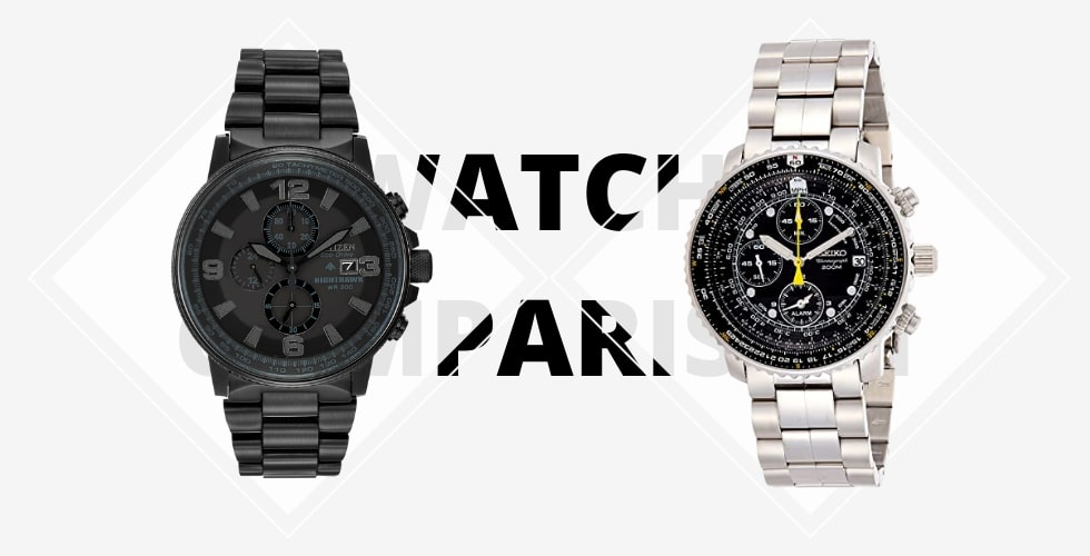 Citizen Nighthawk vs Seiko Flightmaster