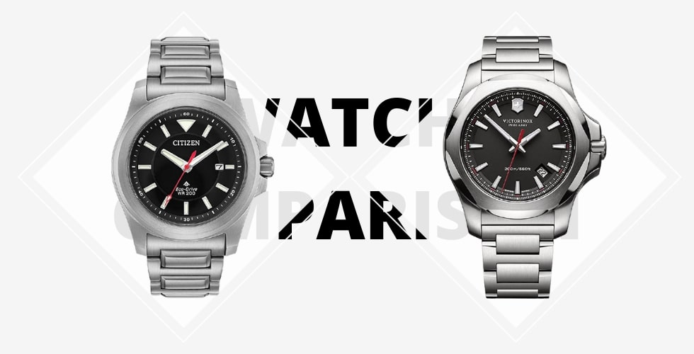 Citizen Promaster Tough vs Victorinox INOX