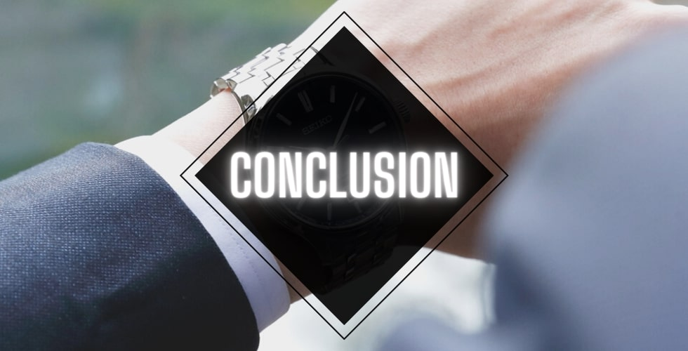 Seiko SARX055 vs SARX033: Conclusion