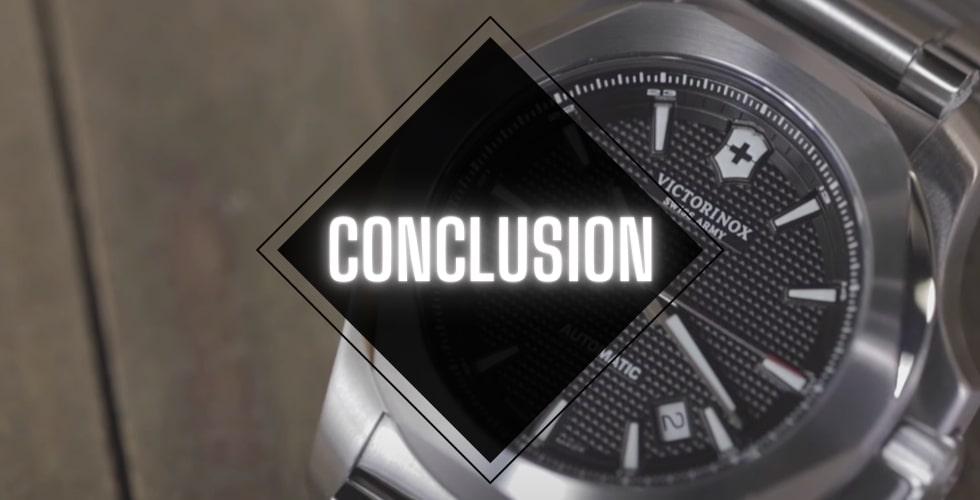 Victorinox INOX vs Citizen Promaster: Conclusion