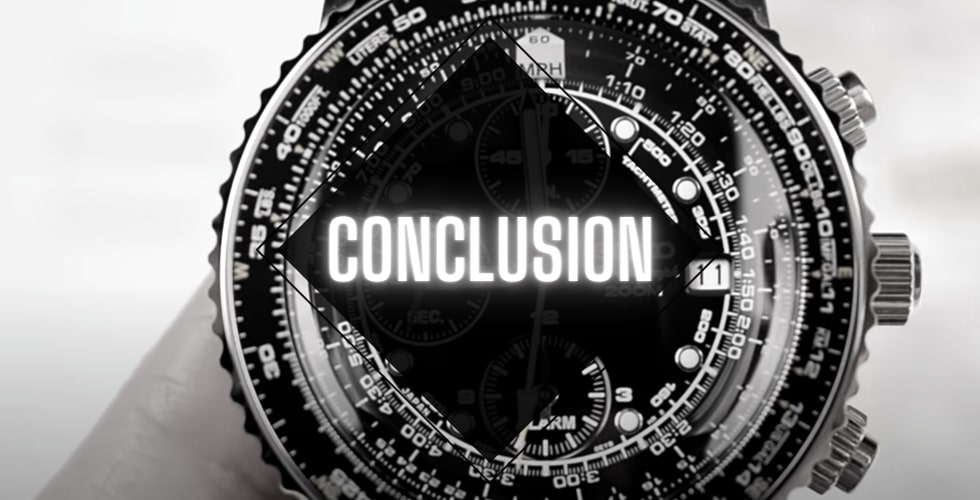 Seiko Flightmaster vs Citizen Nighthawk: conclusion