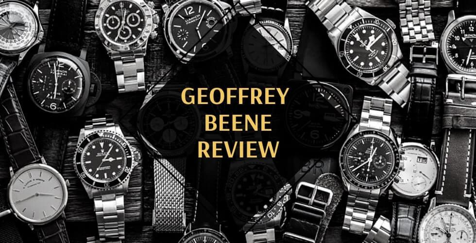 Geoffrey Beene watches review