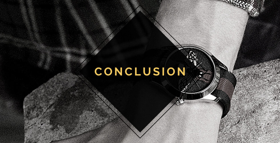 Are Gucci watches any good? Conclusion