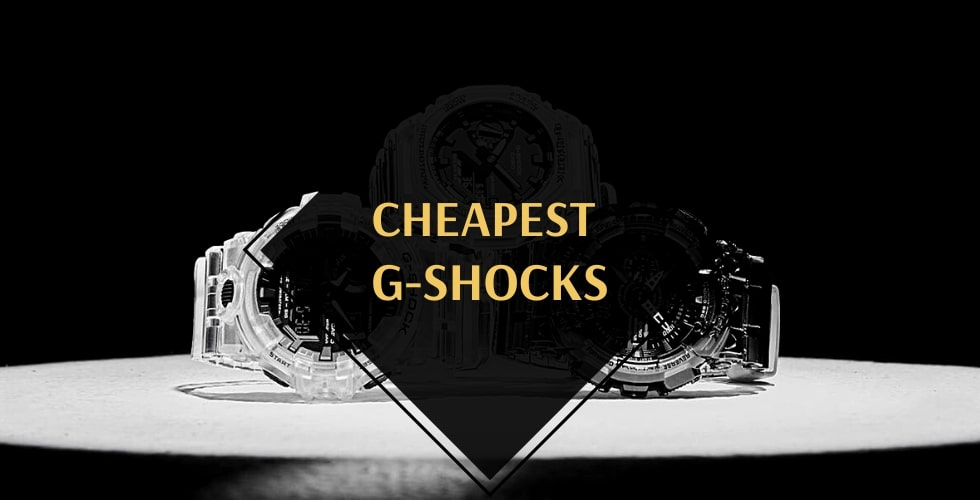 Cheapest G-Shock watch