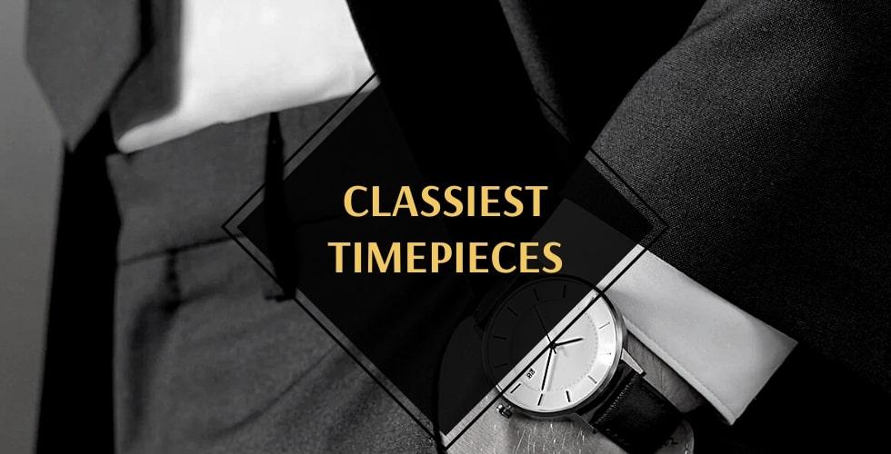 Classiest men's watches