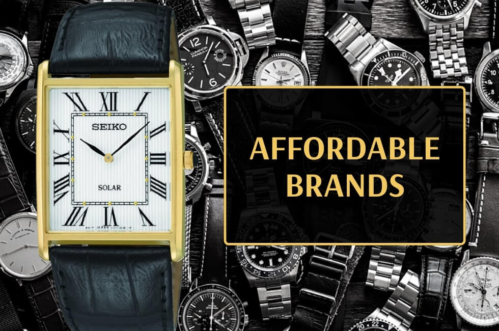 Affordable classy watches for men