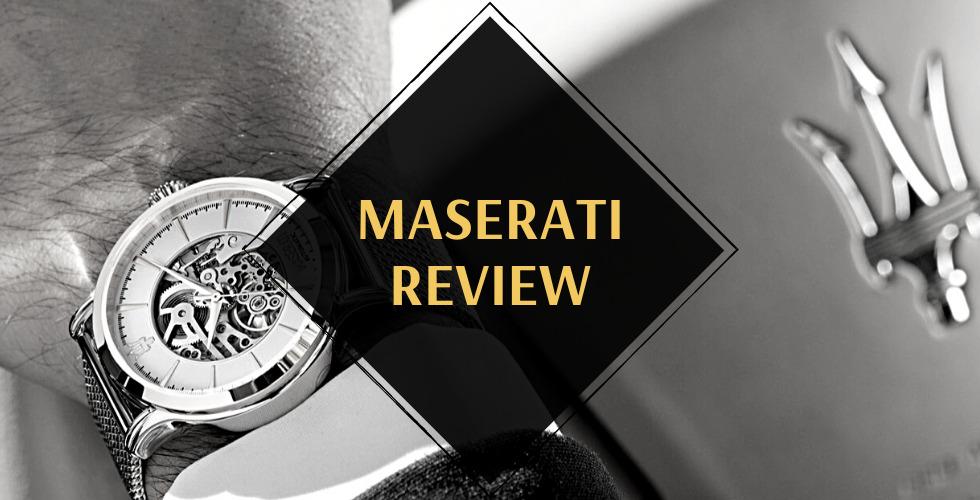 Maserati watches review