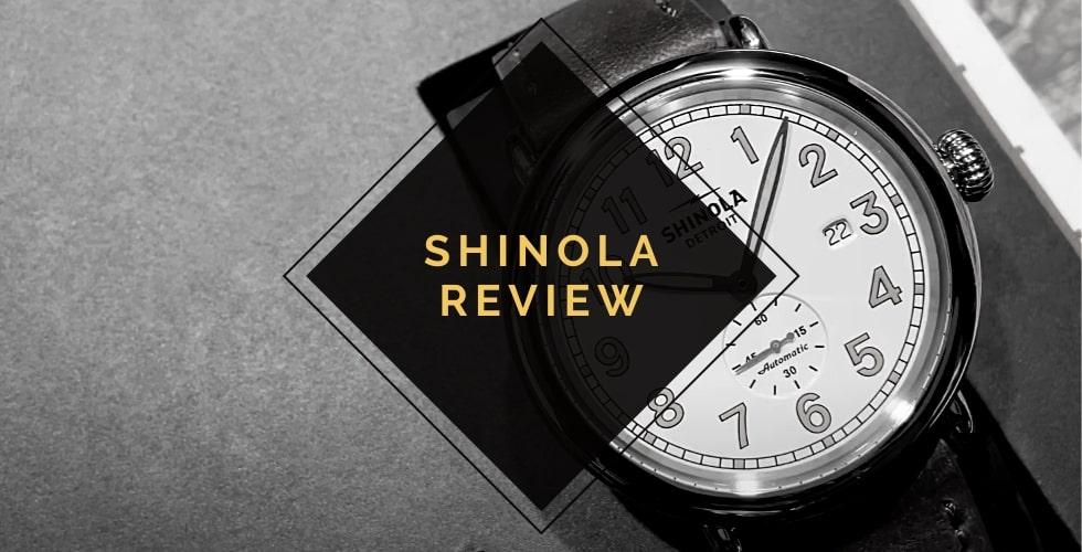 Shinola watches review