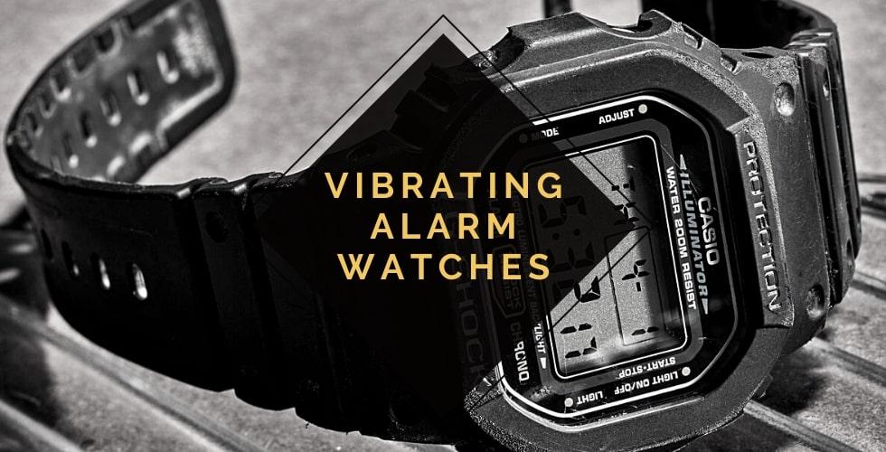 Best vibrating alarm watches