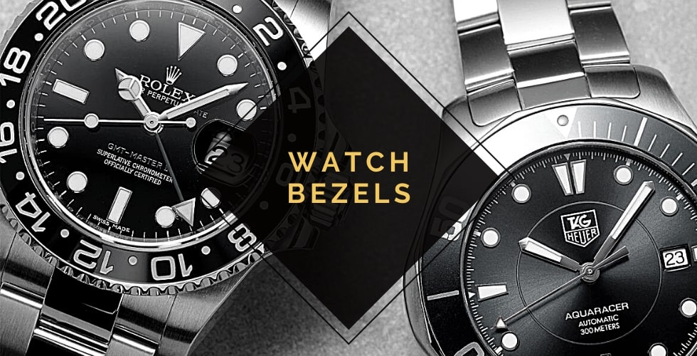 Different types of watch bezels