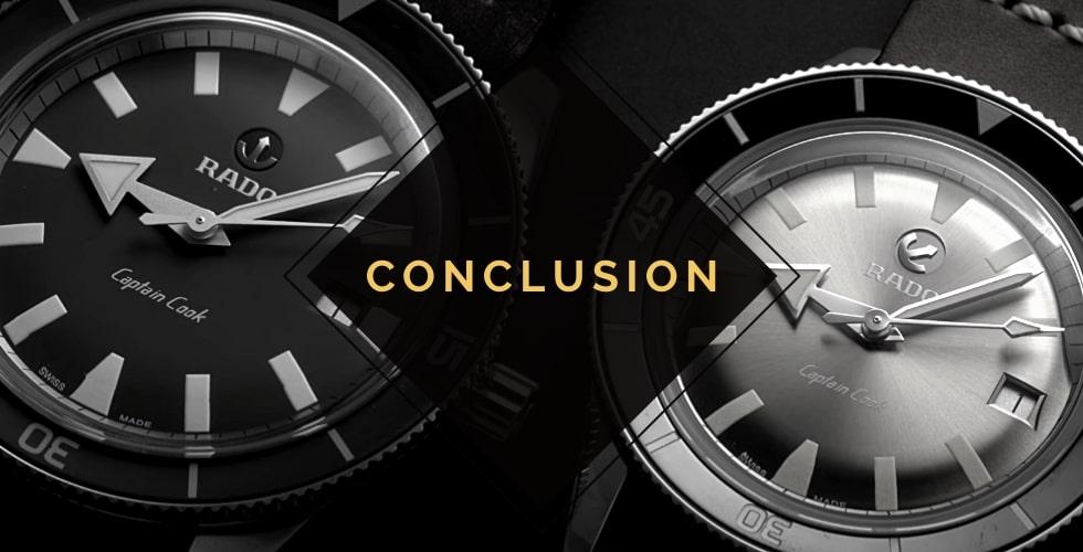 Is Rado a good watch brand? Conclusion